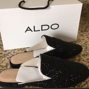 NEW ALDO sequins loafers